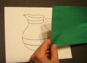 Аппликация из обрывной бумаги (32)