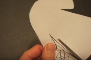 Аппликация на новогоднюю тему. Снегурочка из бумаги своими руками (36)