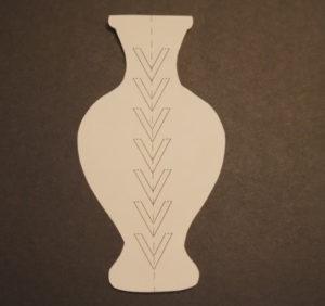 Аппликация цветы в вазе (30)