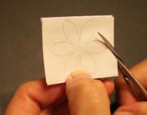 Аппликация цветы в вазе (47)
