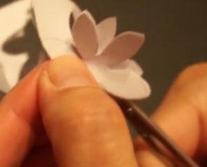 Аппликация цветы в вазе (48)
