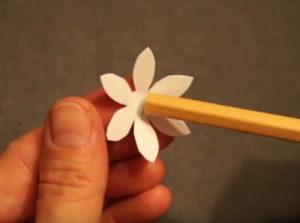 Аппликация цветы в вазе (50)