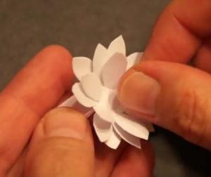 Аппликация цветы в вазе (58)