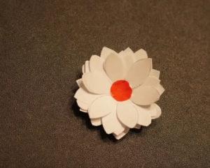 Аппликация цветы в вазе (61)