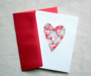 Готовимся 14 февраля. Какие открытки можно сделать своими руками (12)