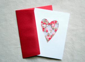 Готовимся 14 февраля. Какие открытки можно сделать своими руками (21)