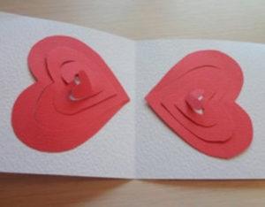 Готовимся 14 февраля. Какие открытки можно сделать своими руками (48)