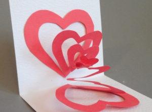 Готовимся 14 февраля. Какие открытки можно сделать своими руками (50)