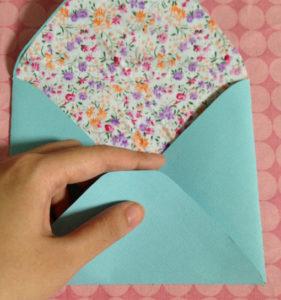 Как сделать маленькие конвертики из бумаги (9)