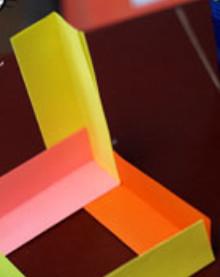 Как сделать поделку из цветной бумаги (10)