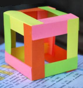 Как сделать поделку из цветной бумаги (13)