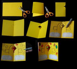 Как сделать поделку из цветной бумаги (28)