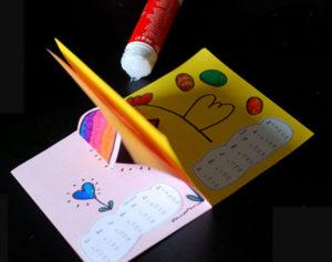 Как сделать поделку из цветной бумаги (29)