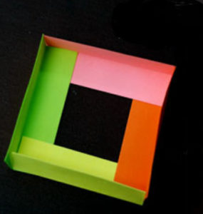 Как сделать поделку из цветной бумаги (9)
