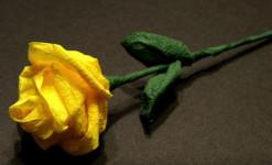 Как сделать розу из салфетки своими руками (24)