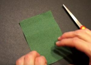 Как сделать розу из салфетки своими руками (5)