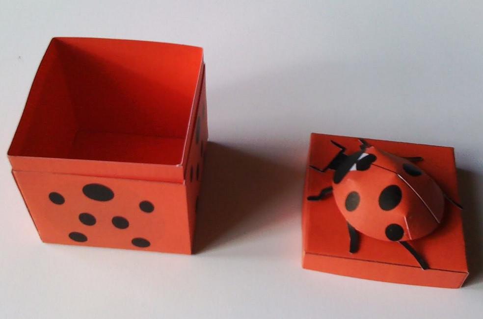 Подарки из бумаги и картона своими руками