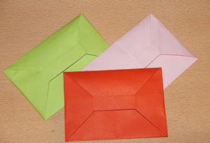Кошелёк из бумаги своими руками (20)