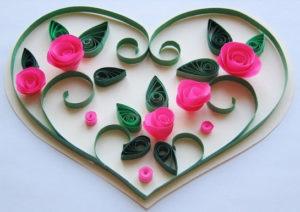 Не сложные валентинки своими руками (1)