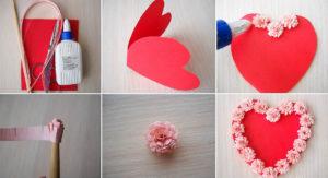 Не сложные валентинки своими руками (12)