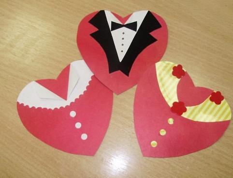 Валентинки из бумаги поделки