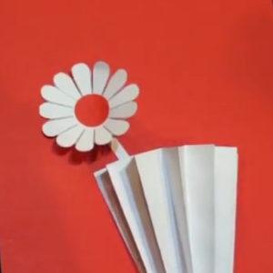 Объемная аппликация цветы (19)