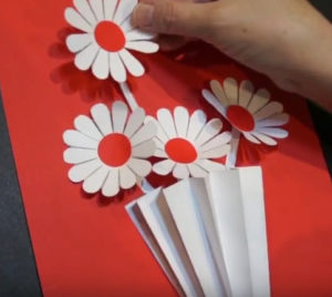 Объемная аппликация цветы (20)