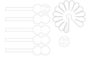 Объемная аппликация цветы (25)