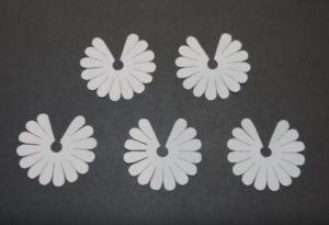 Объемная аппликация цветы (26)