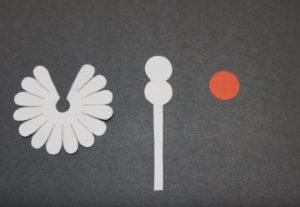 Объемная аппликация цветы (27)