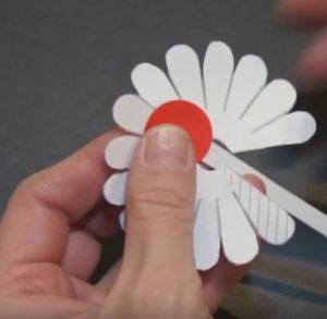 Объемная аппликация цветы (3)