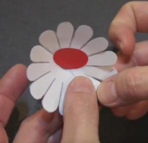 Объемная аппликация цветы (4)