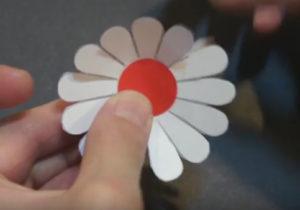 Объемная аппликация цветы (6)