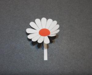 Объемная аппликация цветы (7)