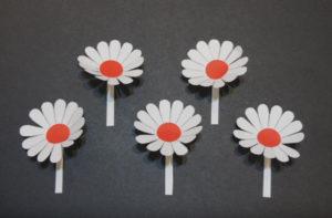Объемная аппликация цветы (8)