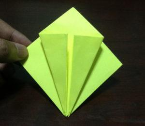 Оригами из бумаги журавлик (10)