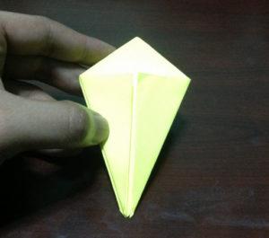 Оригами из бумаги журавлик (11)
