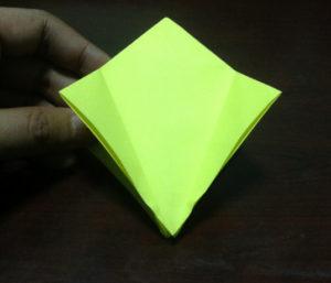 Оригами из бумаги журавлик (12)