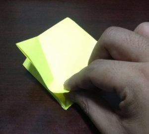 Оригами из бумаги журавлик (13)