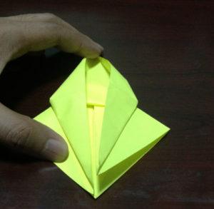 Оригами из бумаги журавлик (14)