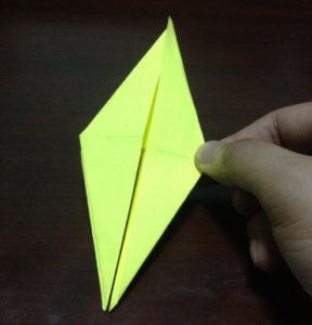 Оригами из бумаги журавлик (16)