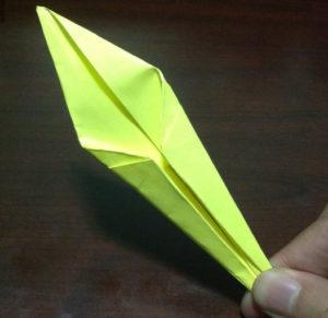 Оригами из бумаги журавлик (19)