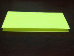 Оригами из бумаги журавлик (2)