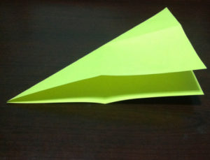 Оригами из бумаги журавлик (4)
