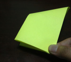 Оригами из бумаги журавлик (6)