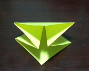 Оригами из бумаги журавлик (8)