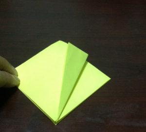 Оригами из бумаги журавлик (9)