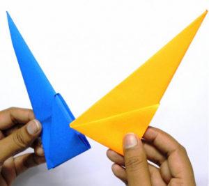 Оригами солнышко (14)
