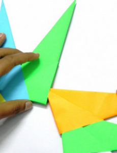 Оригами солнышко (15)