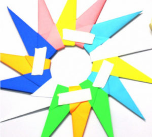 Оригами солнышко (16)